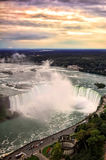 Niagara Falls Sunset Royalty Free Stock Image