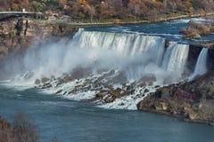 Niagara falls at sunset Royalty Free Stock Image