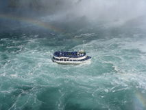 Niagara Falls Tour Boat Royalty Free Stock Photography