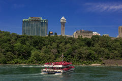 Niagara Falls Tourboat Royalty Free Stock Image