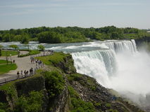 Niagara Falls, USA/Canada Stockfotos