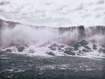 Niagara Falls from USA Royalty Free Stock Images