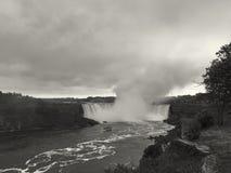 Niagara Falls from USA Stock Photography