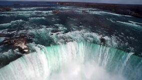 Niagara Falls from USA Landscape View stock video