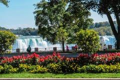 Niagara Falls USA sida Royaltyfria Foton