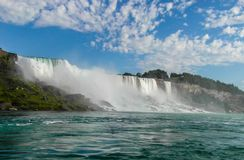 Niagara Falls USA sida Arkivbild