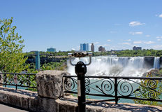 Niagara Falls view Royalty Free Stock Photos