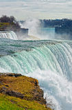 Niagara Falls viewed from American side Stock Photography