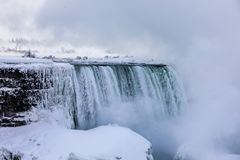 Niagara Falls vinter Royaltyfria Bilder