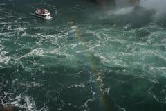 Niagara Falls w całej okazałości. Nature in its beauty and strength. Niagara Falls. Photos from traveling around Canada Stock Photo