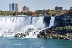 Niagara falls waterfalls travel look royalty free stock image