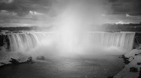 Niagara. Falls in winter; Canada side Royalty Free Stock Images