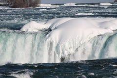 Niagara Falls in the winter Stock Photo