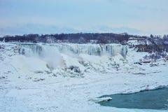 Niagara Falls in winter. stock photos