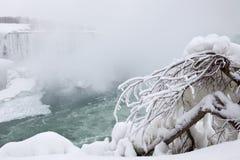 Niagara Falls in winter Stock Photo