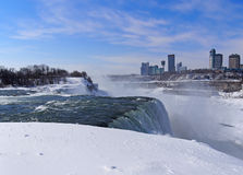 Niagara Falls in winter Stock Photography