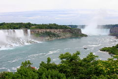Niagara- Fallslandschaft Stockbild