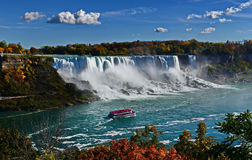 Niagara- Fallslandschaft Stockfotos
