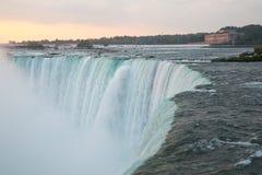 Niagara- Fallsmorgen Stockbild