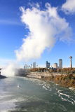 Niagara- Fallsnebel Lizenzfreies Stockfoto