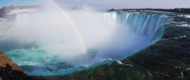 Niagara- Fallspanorama Lizenzfreies Stockfoto