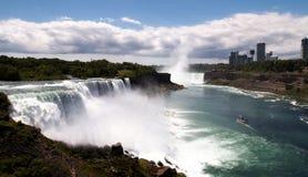 Niagara- FallsSkyline lizenzfreies stockbild