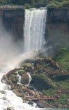 Niagara- Fallstouristen Stockbilder