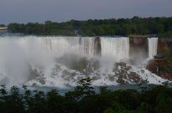 Niagara- Fallswasserfall Stockbild