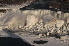 Niagara- Fallswinter Lizenzfreies Stockbild