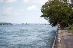 niagara flod Fotografering för Bildbyråer