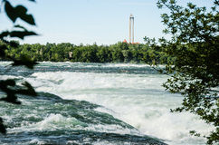 niagara flod Royaltyfria Bilder