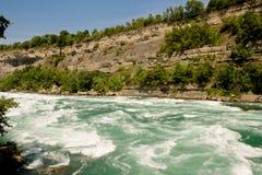 niagara flod Arkivfoto