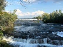 niagara flod Royaltyfria Foton
