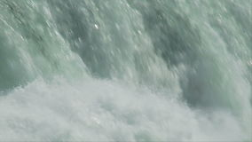 Niagara flowing waterfall stock video footage