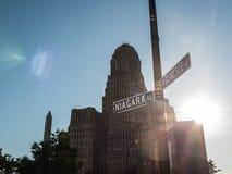Niagara and Genesee Buffalo City Hall Stock Images