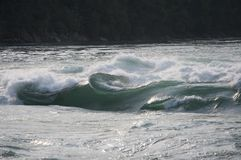 Niagara Gorge Rapids. Neat water formation caught in the Whirlpool Rapids in the Niagara Gorge Stock Photography