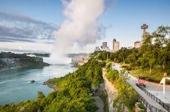 Niagara horse shoe falls royalty free stock photo