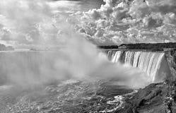Niagara hästskonedgångar Arkivbilder