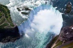 Niagara-Hufeisen-Fälle stockbild