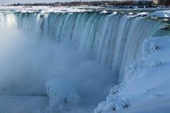 Niagara i vintern Royaltyfri Bild
