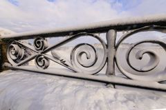 Niagara im Winter lizenzfreies stockfoto