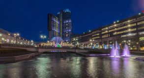 Niagara kasino Arkivbilder