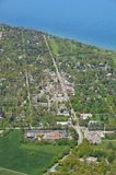 Niagara on the Lake, aerial Royalty Free Stock Images