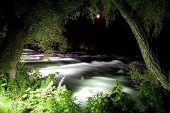 niagara nattflod Arkivbilder