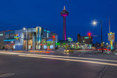 Niagara nattplats Arkivfoton