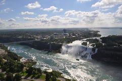 Niagara nedgång Fotografering för Bildbyråer