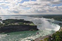 Niagara nedgång Arkivfoto