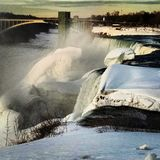 Niagara nedgång Royaltyfria Foton
