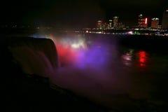 Niagara at the night royalty free stock photography