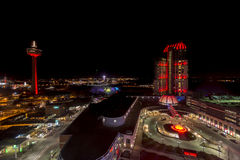 Niagara at night Stock Image